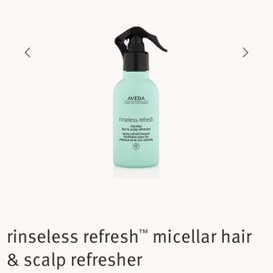 Brand new Aveda rinseless refresh- dry shampoo